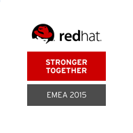 Red Hat EMEA Partner Awards 2015 - Stronger Together Award